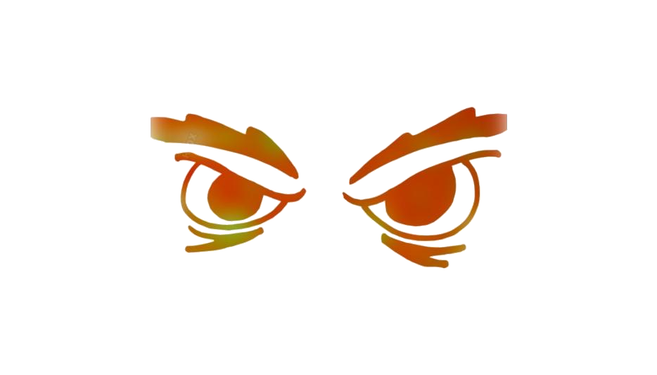 Angry Eyebrow Png Clipart Download