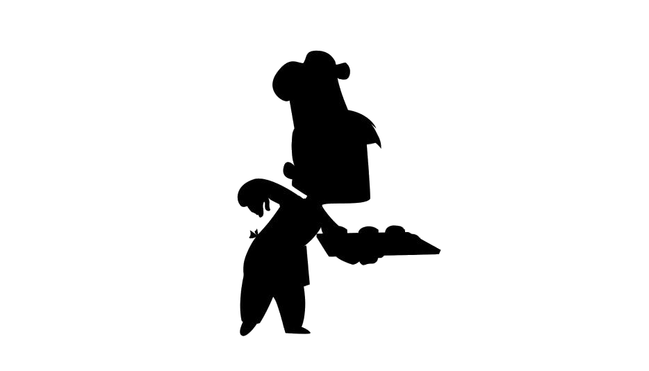 Baker Png Silhouette Transparent Background