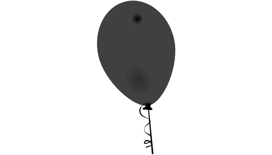 Balloon With Rope Png Hd Transparent Image