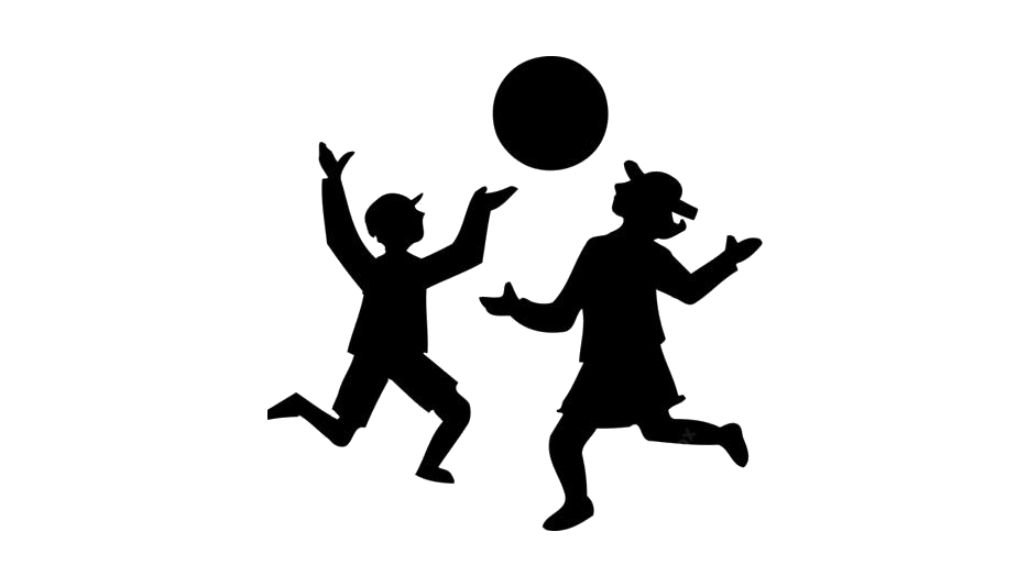 Children Playing Ball Png Image Clipart