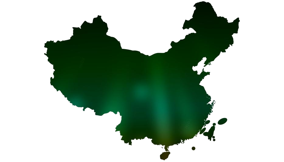 China Blank Map Png Free Clipart