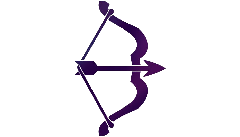 Colorful Bow Hunting Png Transparent Image