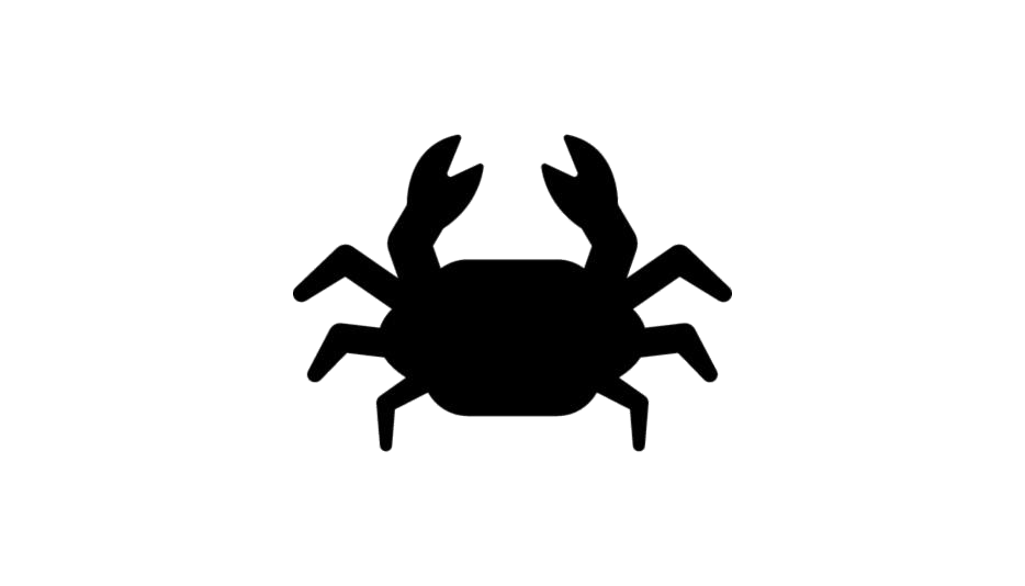 Crab Png Black And White