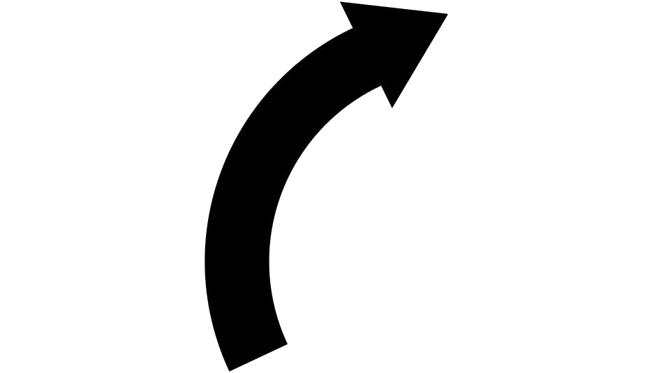 Curved Arrow Png Image Clipart