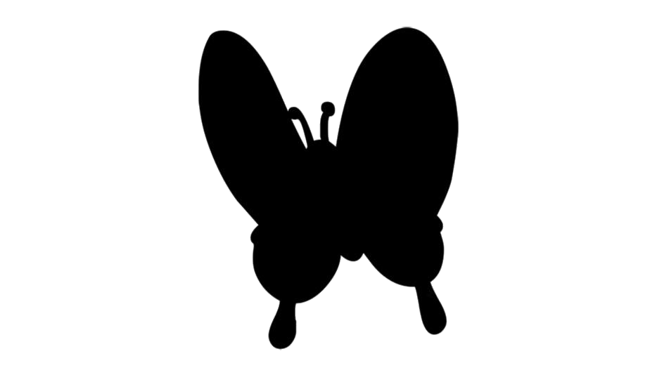 Cute Butterfly Art Png Free Download
