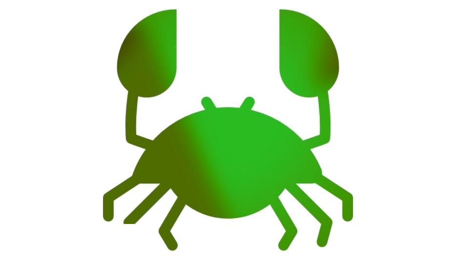 Cute Crab Transparent Background
