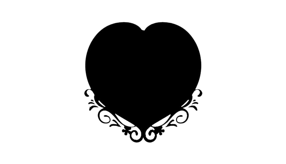 Heart Frame Design Png With Transparent Background