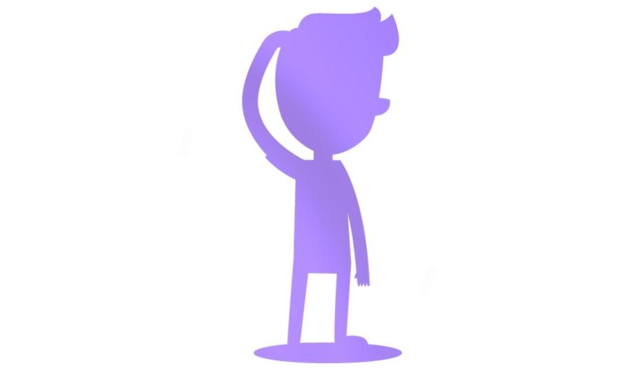 Man Thinking Image With Transparent Background