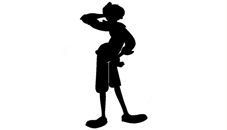 Olive Oyl Giving Pose Png Image For Download