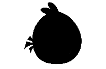 Angry Bird Png Silhouette