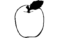 Apple Coloring Page Png Clipart Free Download