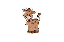 Baby Calf PNG Clipart Image