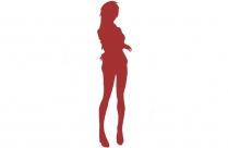Brave Anime Png Silhouette Transparent Background