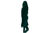 Beautiful Young Model Woman Standing Png Image