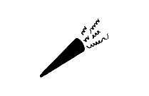 Party Horn Png Black And White