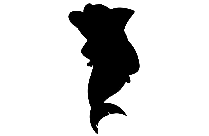 Beautiful Fish Png Silhouette