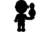 Black Peter Pan Png Transparent Background