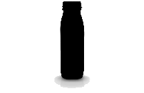Bottle Silhouette PNG Clipart Image