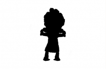 Girl With Knife Png Black And White