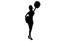 Cheerleader Png Transparent Clipart For Download