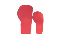 Colorful Kickboxing Gloves Png