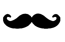 Colorful Mustache Png