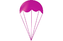 Colorful Parachute Png With Transparent Background