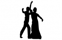 Transparent Background Swing Dance Couple Png