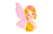 Cute Fairy Girl Png Vector