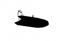 Cute Inflatable Boats Art Transparent Background