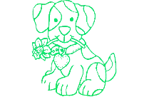 Funny Dog Art Png Clipart