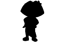 Dora The Explorer Black And White Clipart PNG
