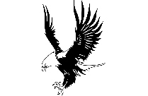 Tribal Eagle Tattoo Png With Transparent Background