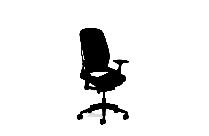 Ergonomic Office Chair Vector Png