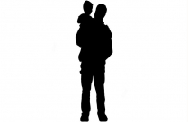 Father Lifting Child Png Hd Image