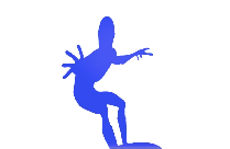 Transparent Frozone Drawing
