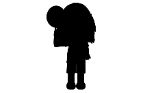 Girl With Flower Png Logo