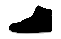 Jordan Shoes Clipart Png Black And White