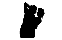 Transparent Romantic Couples Kissing Clipart, Romantic Couples Kissing Png Image
