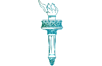 Liberty Torch Outline Png With Transparent Background