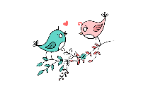 Lovebirds PNG, Transparent HD