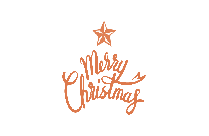 Merry Christmas Art Png Clipart