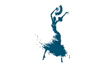 Mexican Flamenco Dancer Painting Png Image For Download