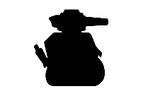 Military Tank Army Truck Silhouette Transparent Background