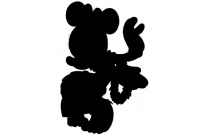 Transparent Background Head Minnie Mouse Png