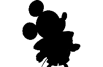 Classic Mickey Mouse Disney Png Cartoon