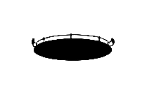 Oval Mahogany Tray With Handlesburke Png