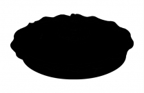 Pie Png Silhouette Transparent Background