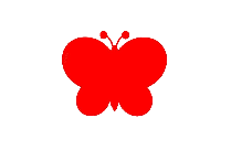 Pink Butterfly Vector Art PNG
