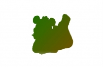 Transparent Bunny Side View Png Image